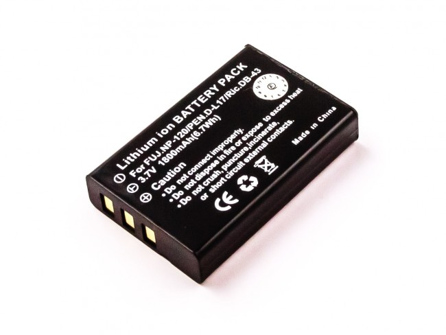 New 3.7V 1400MAH Replacement Li Ion Battery For CANON NB