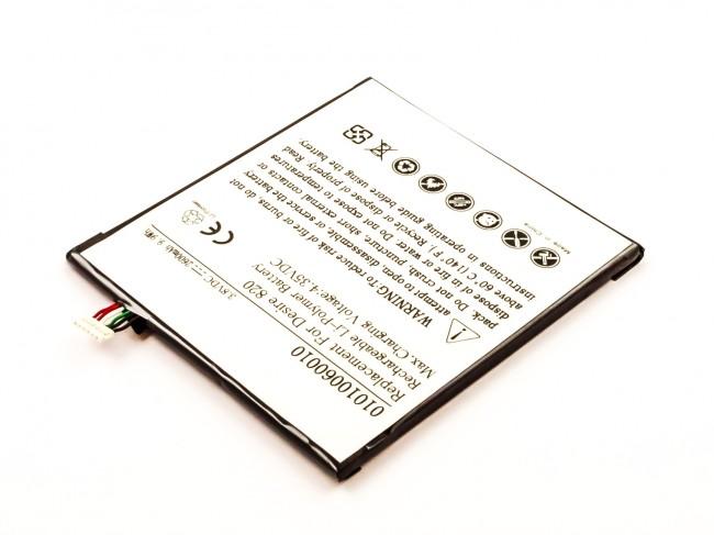 battery htc desire 820 li polymer 3 8v 2600mah 9 9wh batterijen accu 39 s opladers vindt u. Black Bedroom Furniture Sets. Home Design Ideas