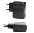 USB Travel Charger 1000mA / 5V EU-plug