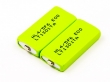 Battery - 2 pieces prismatic cells HF-C1U, NiMH, 1,2V, 500mAh