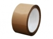 6 Rollen Tape Beige Plakband 50mm breed /66 Meter lang